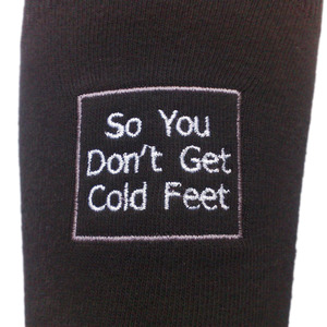 So you do not get Cold Feet Socks